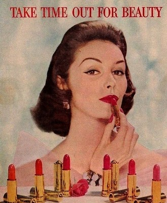 1950s Makeup Advertisment